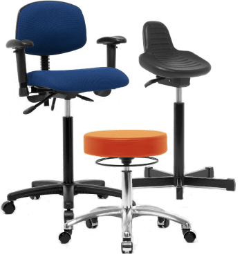 Customizable laboratory seating from Neta Scientific proudly made in the USA