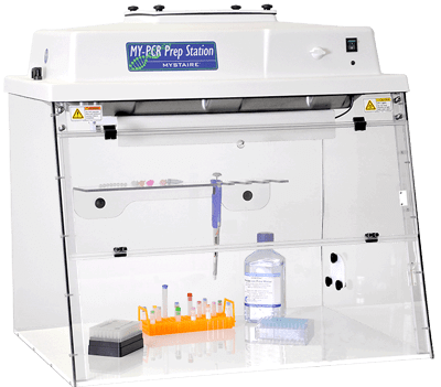 Purchase a MYSTAIRE PCR Workstation and receive a FREE Pack of (4) UV bulbs and (12) prefilters.  Savings of up to $500. Use Promo Code MY-PCR2019 when ordering.
